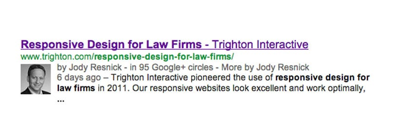 what is google authorship